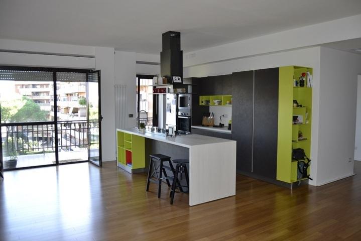 Ristrutturazione Stile Industriale Appartamento Don Bosco